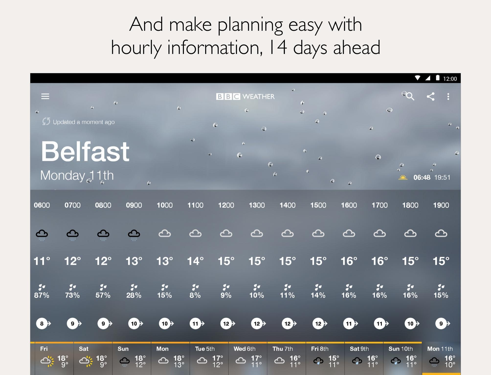 BBC Weather for Android - APK Download