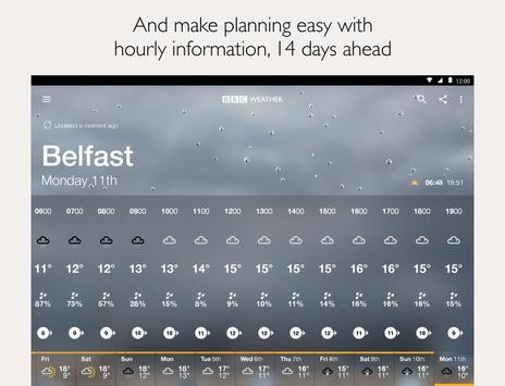 BBC Weather screenshot 14
