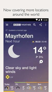 BBC Weather screenshot 1