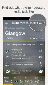 BBC Weather screenshot 2