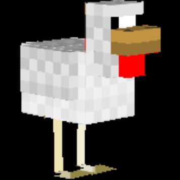 Chicken Skin For MINECRAFT poster