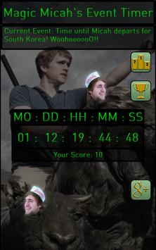 Micah Event Timer screenshot 2