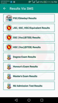 BD Exam Results screenshot 5