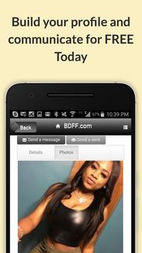 BDFF ♥ 100% Free Black Dating poster