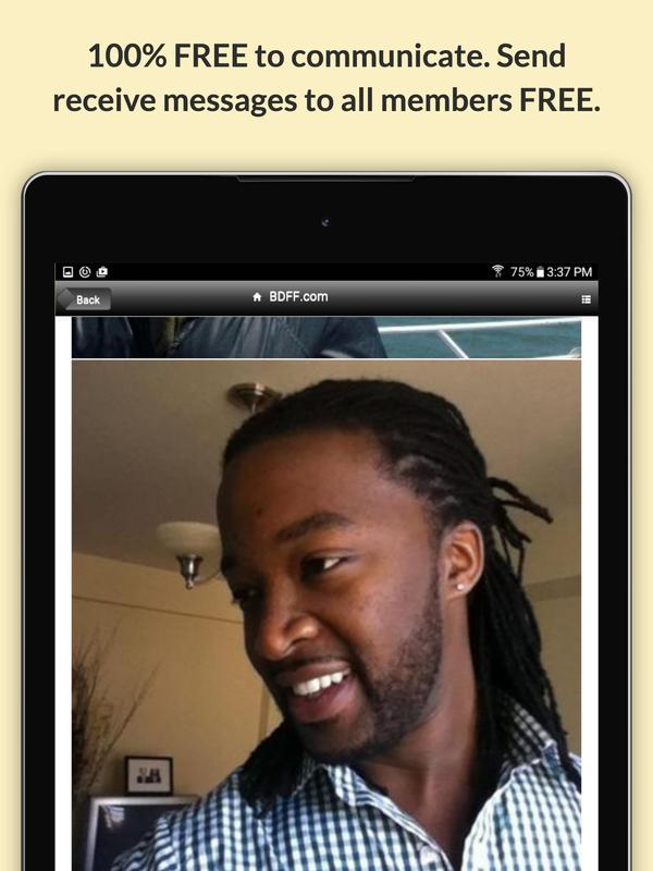 black dating free com