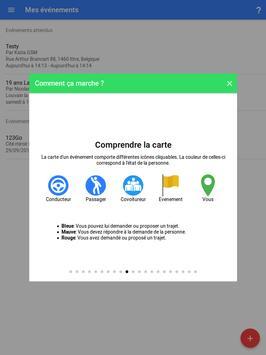 CovEvent: Covoiturage facile apk screenshot