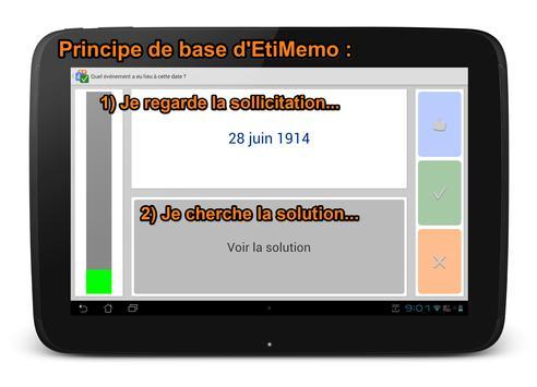 EtiMemo apk screenshot