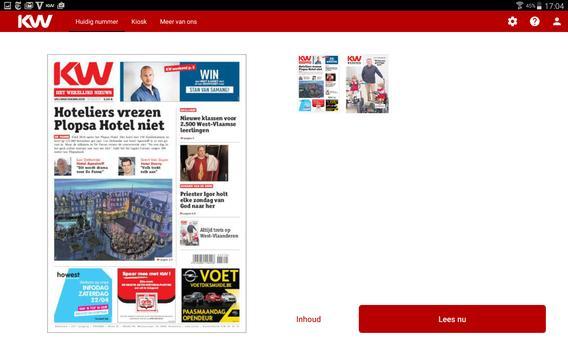 Krant van West-Vlaanderen apk screenshot