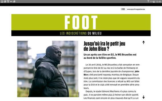 Sport/Footmagazine. screenshot 9