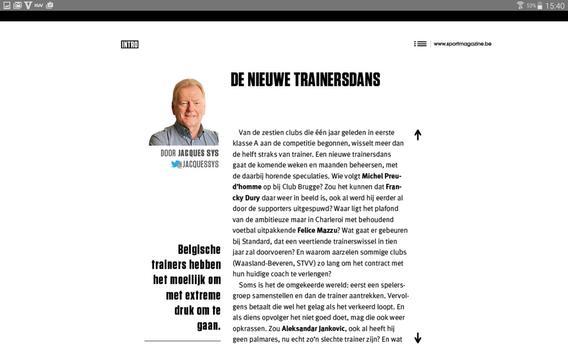 Sport/Voetbalmagazine. screenshot 10