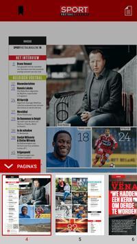 Sport/Voetbalmagazine. screenshot 1