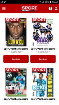 Sport/Voetbalmagazine. screenshot 2