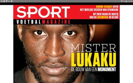 Sport/Voetbalmagazine. screenshot 6