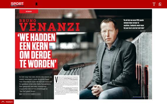 Sport/Voetbalmagazine. screenshot 9