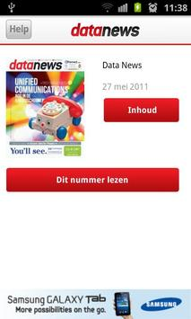 Data News (nl) poster