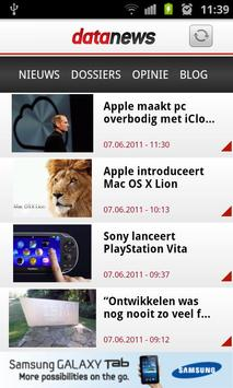 Data News (nl) apk screenshot