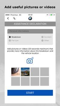 BMW Road Assist 24/7 apk screenshot