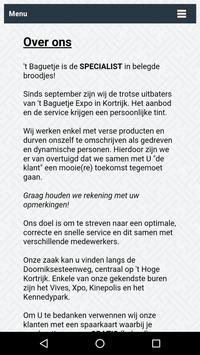 't Baguetje poster