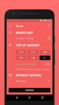 JIM Mobile Top-up apk screenshot