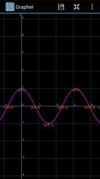 Grapher - Equation Plotter & Solver screenshot 3
