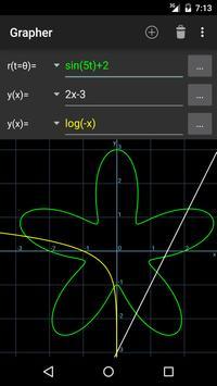 Grapher - Equation Plotter & Solver poster