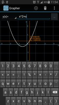 Grapher - Equation Plotter & Solver screenshot 2