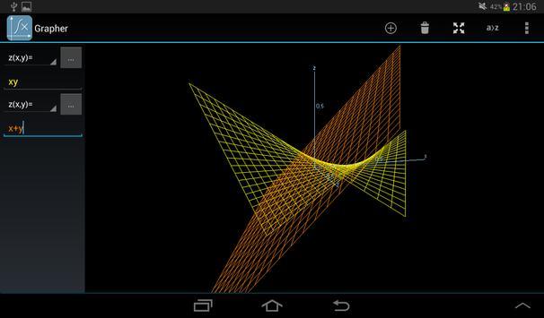 Grapher - Equation Plotter & Solver screenshot 7