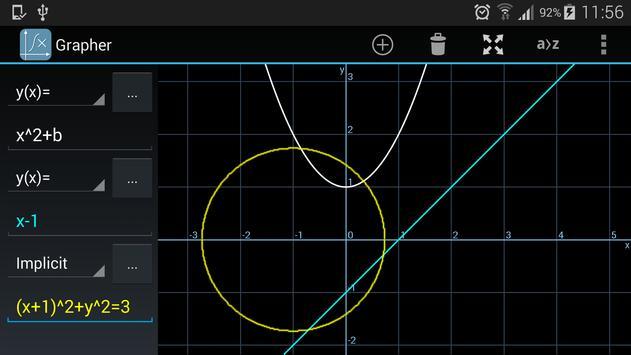 Grapher - Equation Plotter & Solver screenshot 4