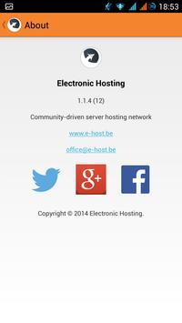 Electronic Hosting apk screenshot