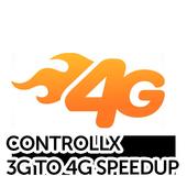 3G to 4G Speedup icon