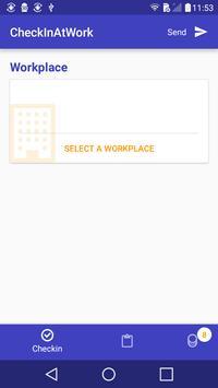 Easy Check In At Work apk screenshot
