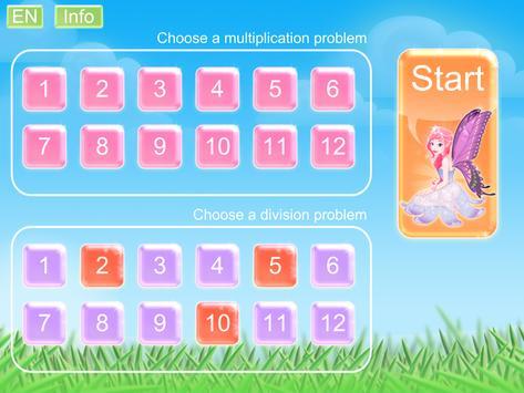Multiplication Fairy screenshot 1