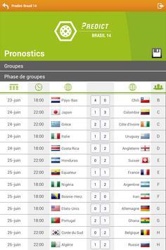 Predict Brasil 14 apk screenshot