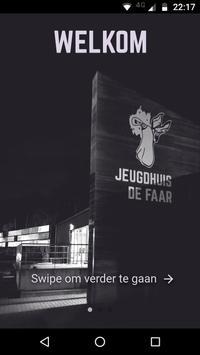 Jeugdhuis De Faar poster