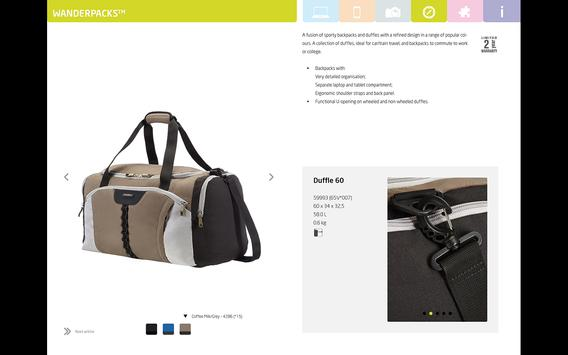 Samsonite Business EN screenshot 1