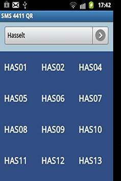 SMS 4411 QR apk screenshot