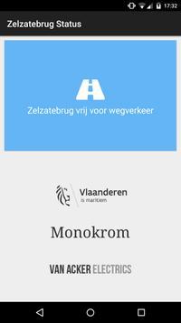 Zelzatebrug Status screenshot 1