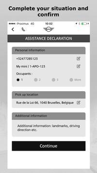 MINI Road Assist 24/7 apk screenshot