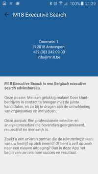 M18 EXECUTIVE SEARCH apk screenshot