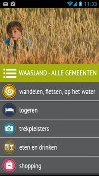 Ontdek Het Waasland poster