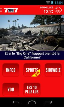 7sur7.be Mobile poster