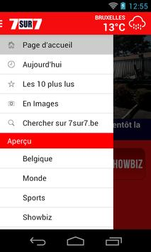 7sur7.be Mobile apk screenshot