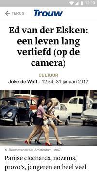 Trouw.nl Mobile apk screenshot