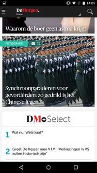 DeMorgen.be Mobile apk screenshot