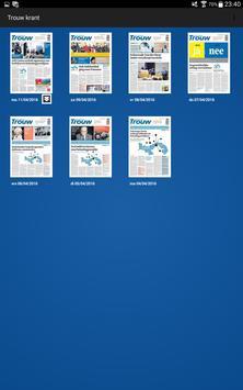 Trouw digitale krant apk screenshot