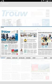 Trouw digitale krant apk screenshot