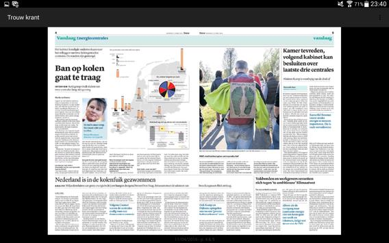 Trouw digitale krant screenshot 13
