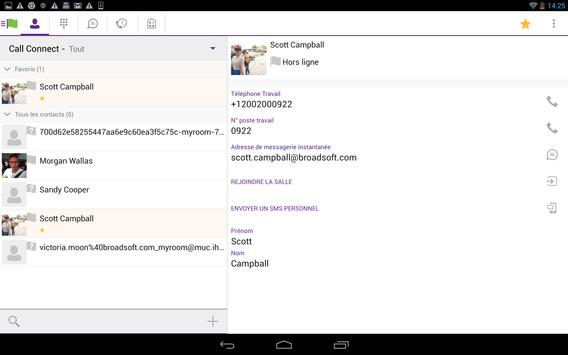 Call Connect Tablet apk screenshot