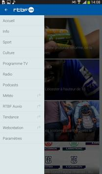 RTBF apk screenshot