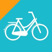 Blue-bike realtime icon